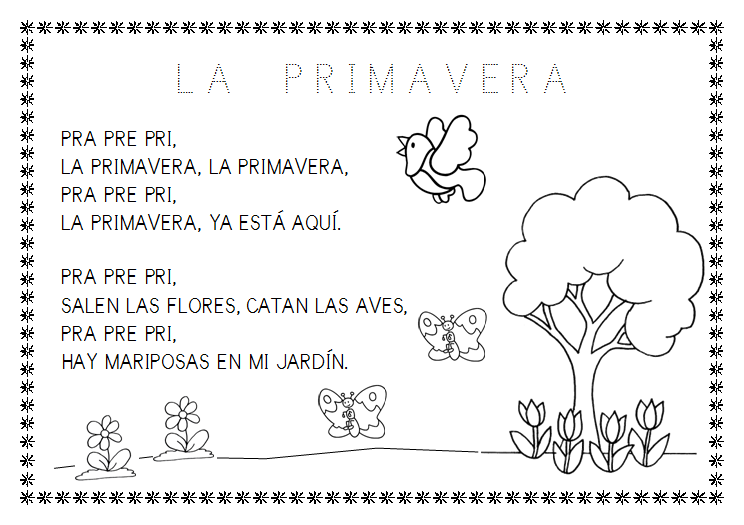 Trabajando en Educación Infantil: 10 poesías de la