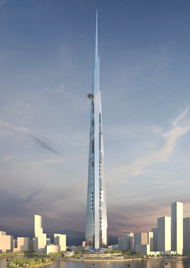 Rendering of the Kingdom Tower