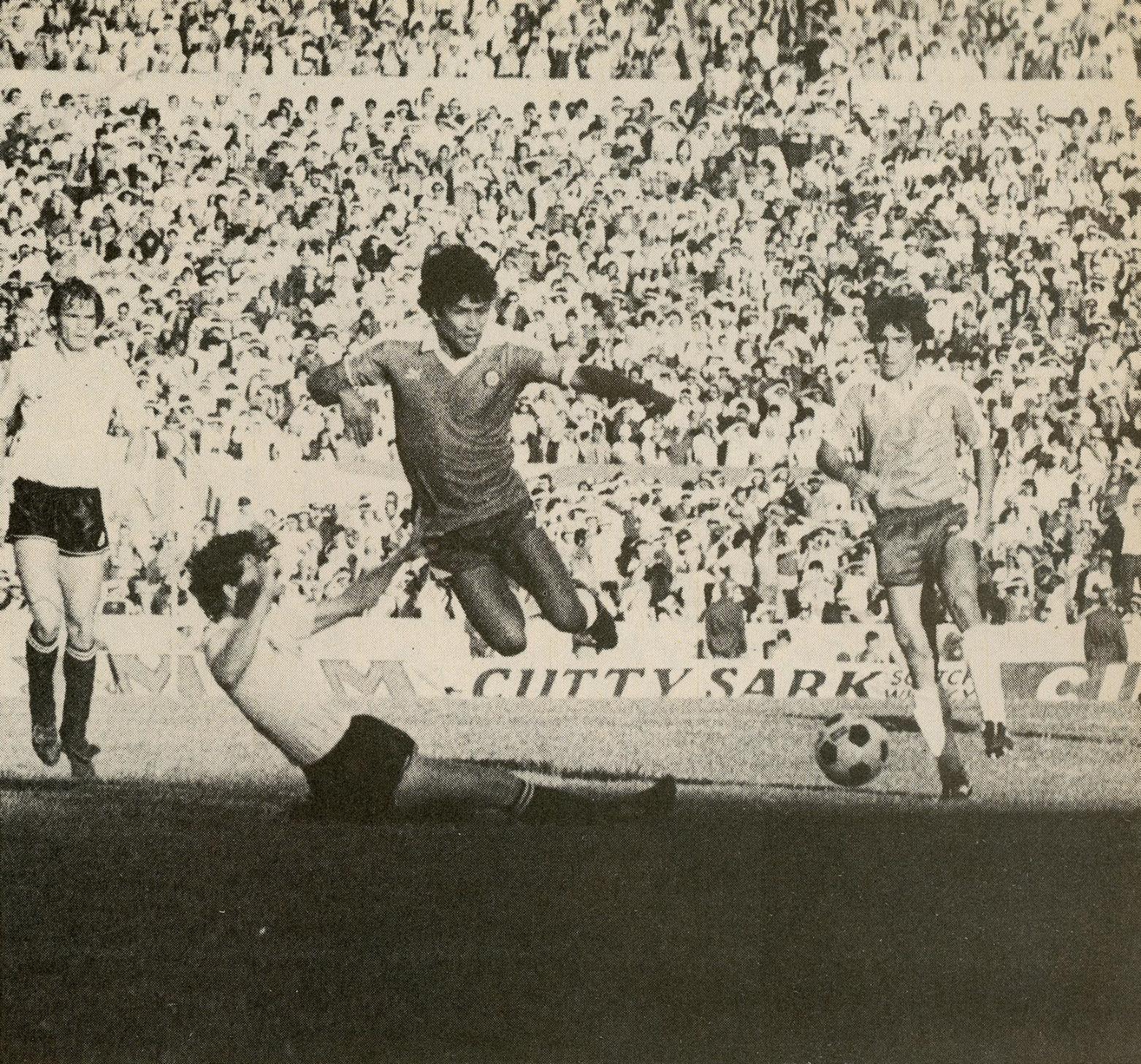 Uruguay y Chile en Clasificatorias a México 1986, 7 de abril de 1985