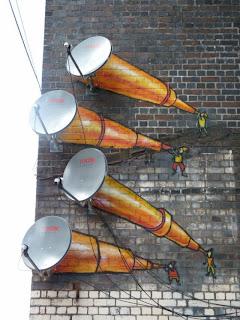 Murales en la calle o arte urbano