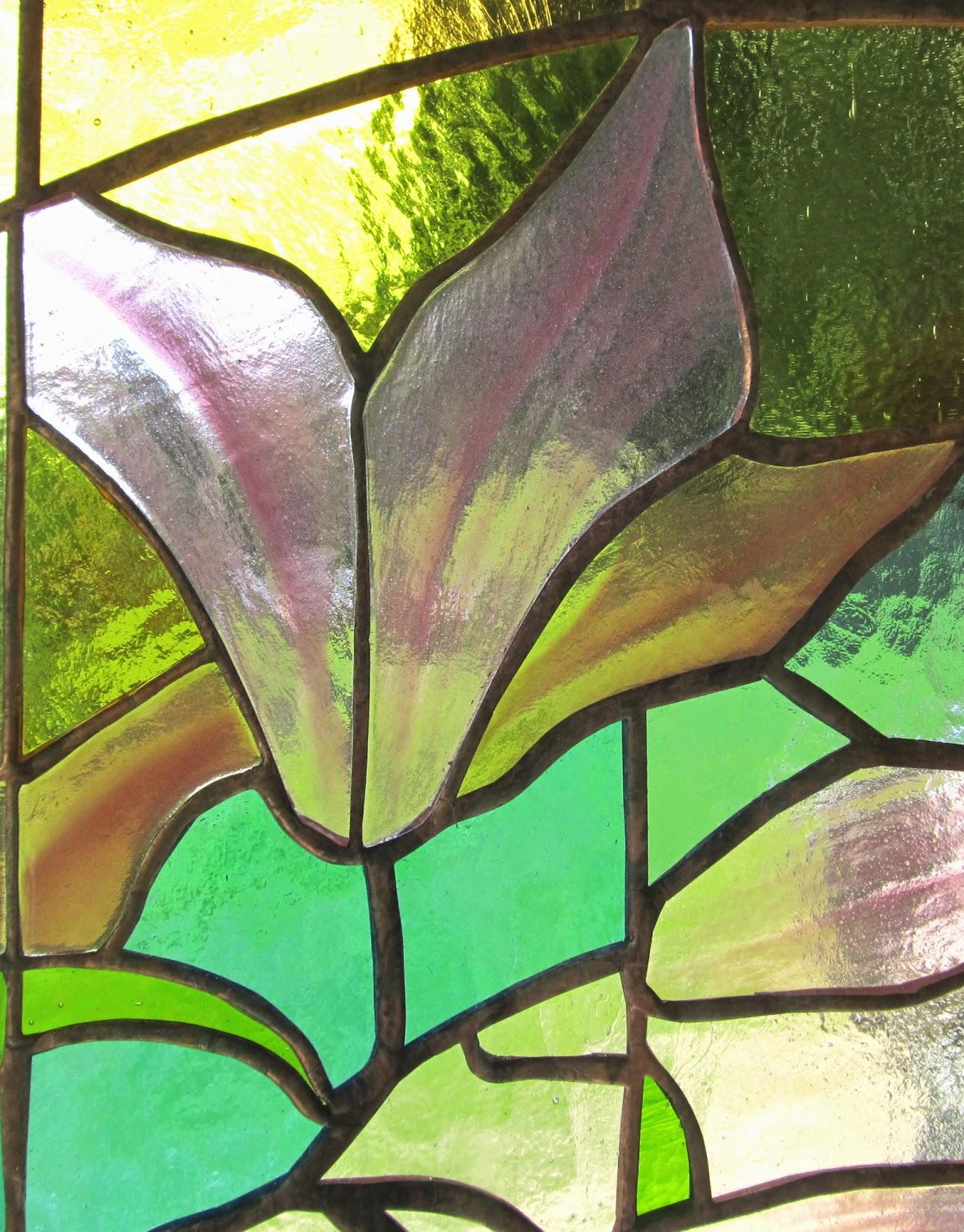 detail vitráže