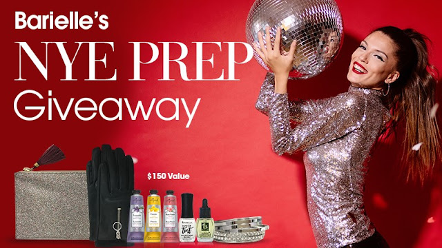 Barielle's New Years Eve Sweepstakes