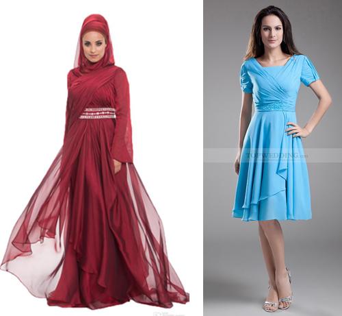 30 Konsep Terbaru Baju Atasan Pesta Kain Sifon