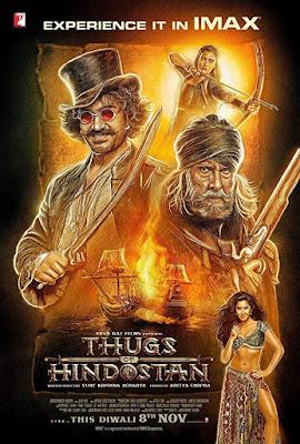 Thugs Of Hindostan [2018] [DVD] [R1] [NTSC] [Subtitulado]