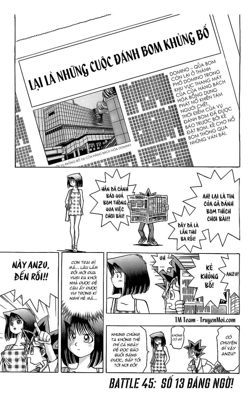 YUGI-OH! chap 45 - số 13 đáng ngờ trang 1