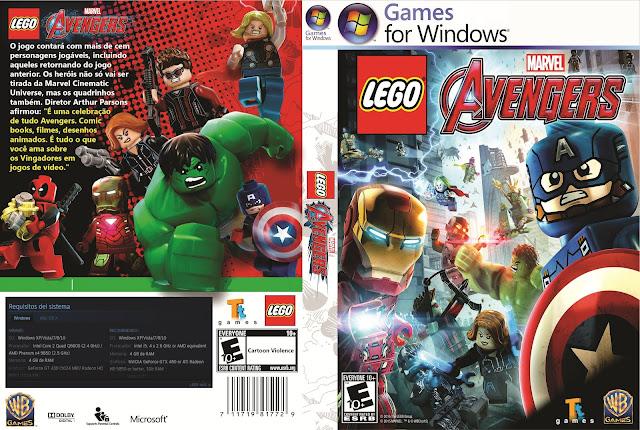 Capa LEGO Avengers PC