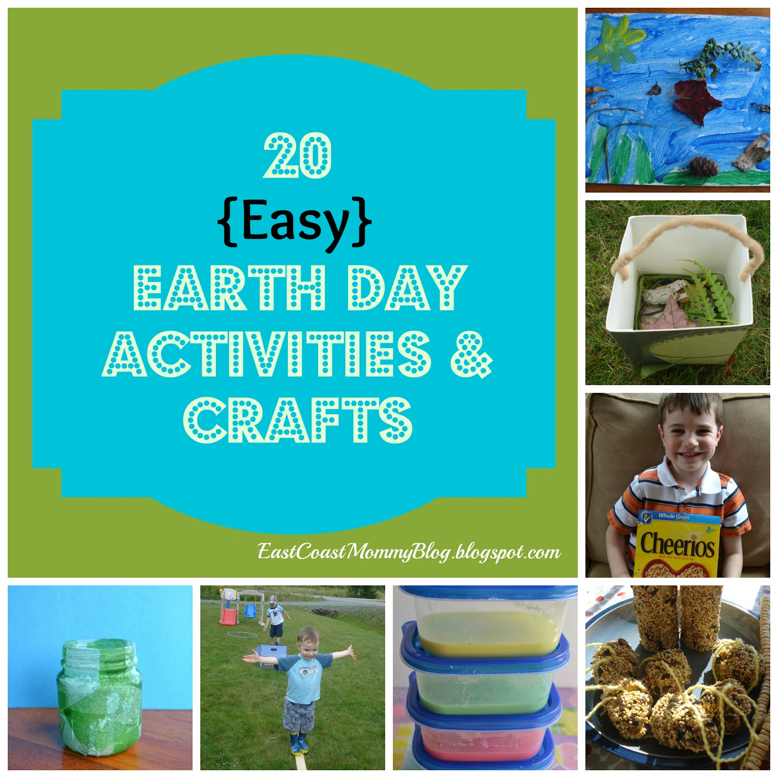 East Coast Mommy 20 Earth Day Crafts And Activities
