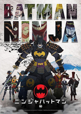 Batman Ninja 2018 DVD R1 NTSC Latino