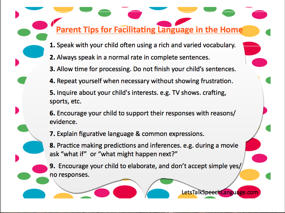 Let's Talk Speech and Language: Resource Roundup: Planning
