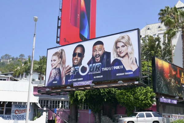 Four Battle for Stardom season 2 billboard