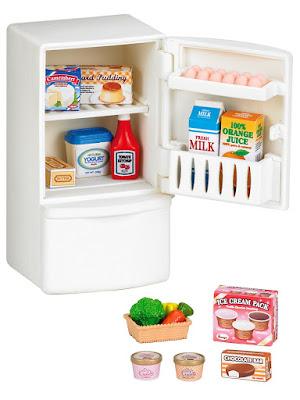 Refrigerador de Sylvanian Families