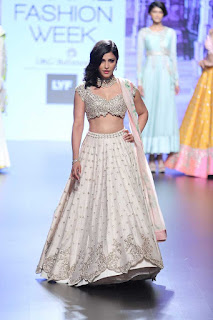 light color lehnga designs