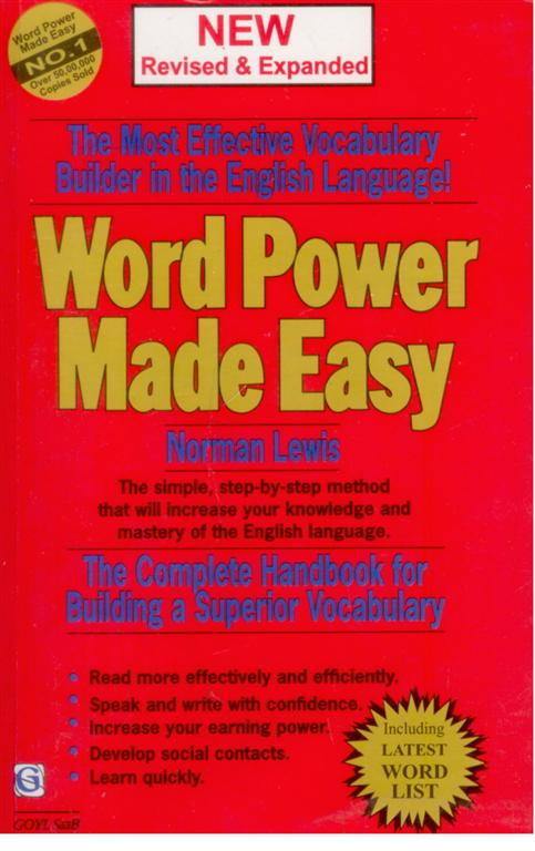 Word power made easy by norman lewis english ebook pdf download.