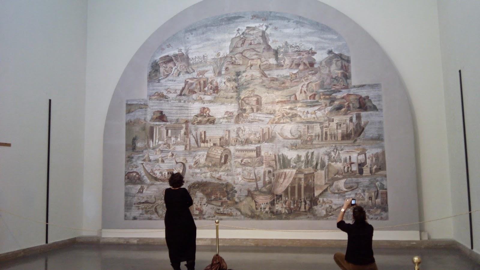Mosaico do NIlo, vale a visita ao Museu Arqueológico de Palestrina
