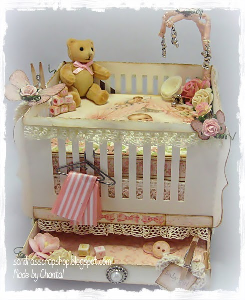 Baby Mobiel Box # 81 Baby Box Patroon / Baby Crib Template