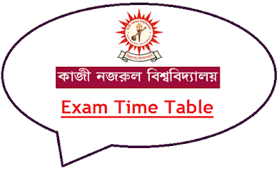 KNU Exam Time Table 2020