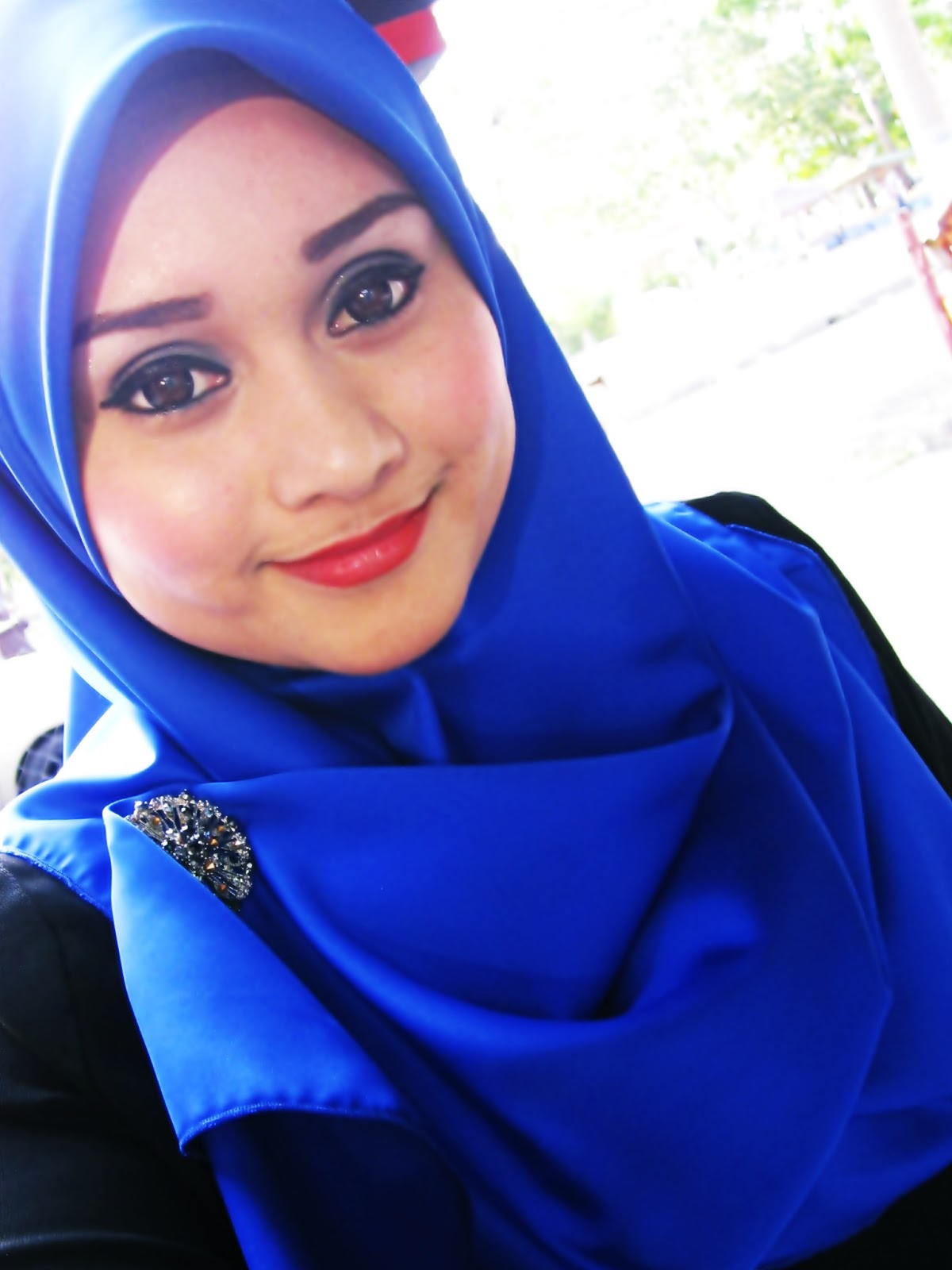Nadia Aljufry: Make Up dan tudung bawal
