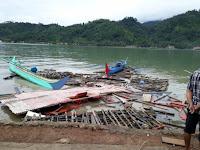 Tsunami Selat Sunda Ratakan Dua Desa di Lampung Selatan