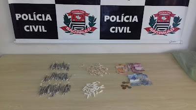 POLÍCIA CIVIL DE REGISTRO-SP PRENDE UM TRAFICANTE EM SETE BARRAS