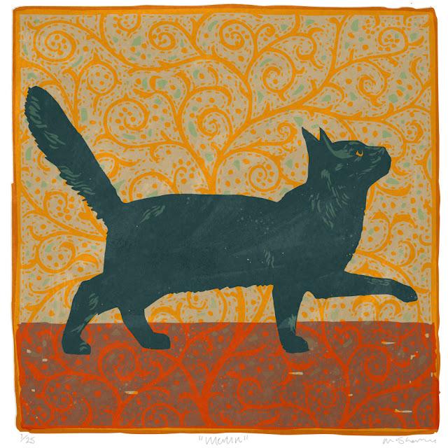 Merlin. Archival giclee print on Hahnemuhle rag paper