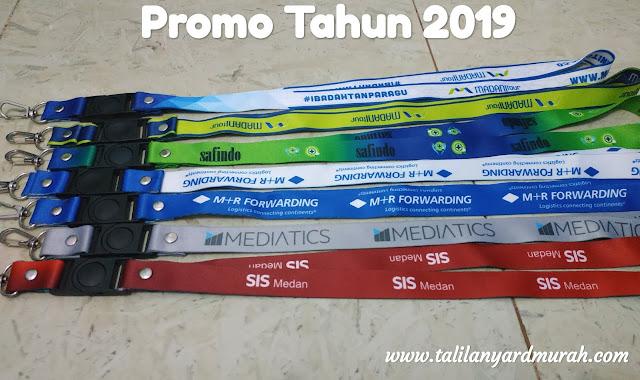 Promo belanja tali lanyard online Januari 2019