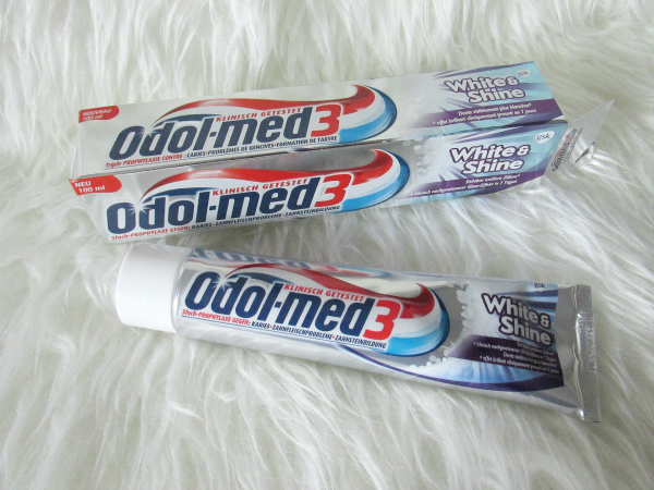 Odol-med3 White&Shine Zahncreme - 75ml - ca. 1.99€