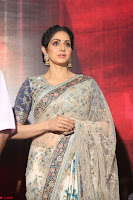 Sri Devi in designer saree stunning beauty at the launch of MOM movie Trailer~  Exclusive 130.JPG