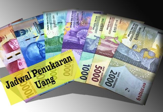 Jadwal Penukaran Uang Rupiah di Beberapa Kabupaten Provinsi Jawa Timur