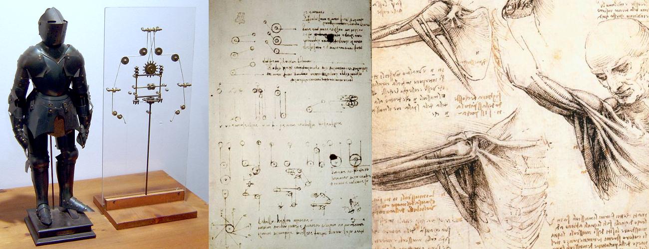 A History of Robotics: Da Vinci\'s Mechanical Knight