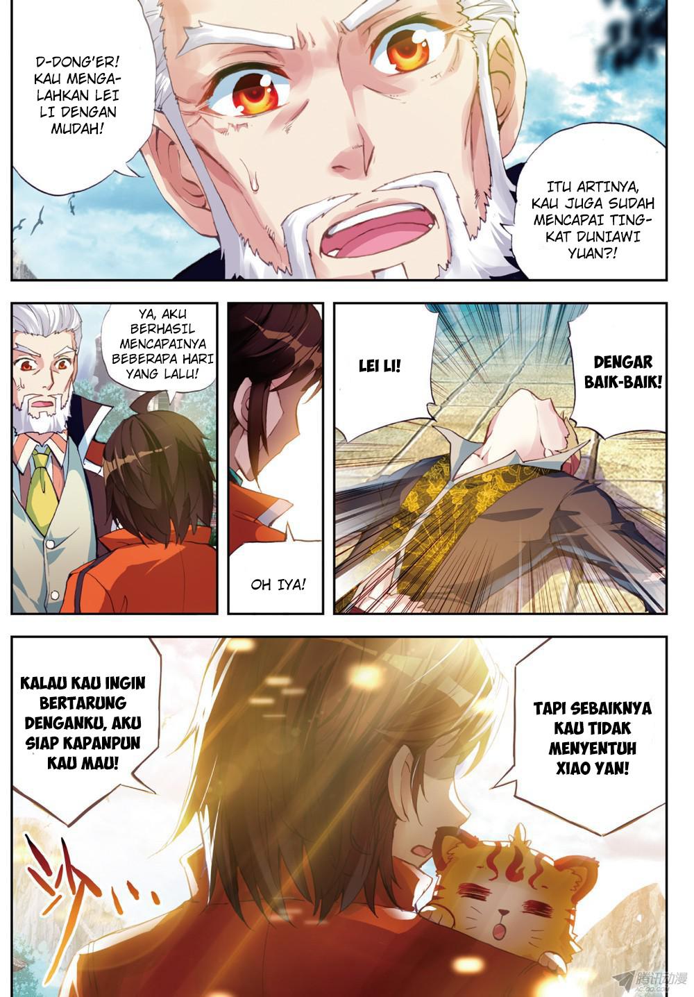 Wu Dong Qian Kun Chapter 21