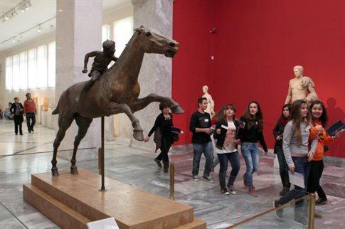 Αύξηση επισκεπτών, μείωση εσόδων στα μουσεία τον Νοέμβριο του 2015