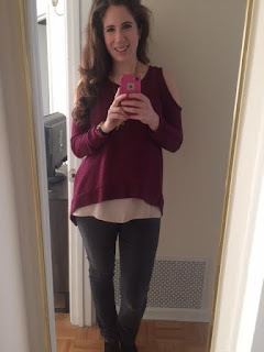what I wore wednesday, lord & taylor, design lab, LC Lauren Conrad, kohls, booties