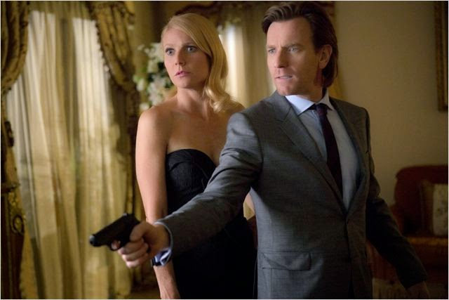 Gwyneth Paltrow y Ewan McGregor en Mortdecai