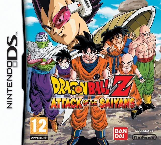ROMs - Dragon Ball Z - Attack of the Saiyans  - NDS Download