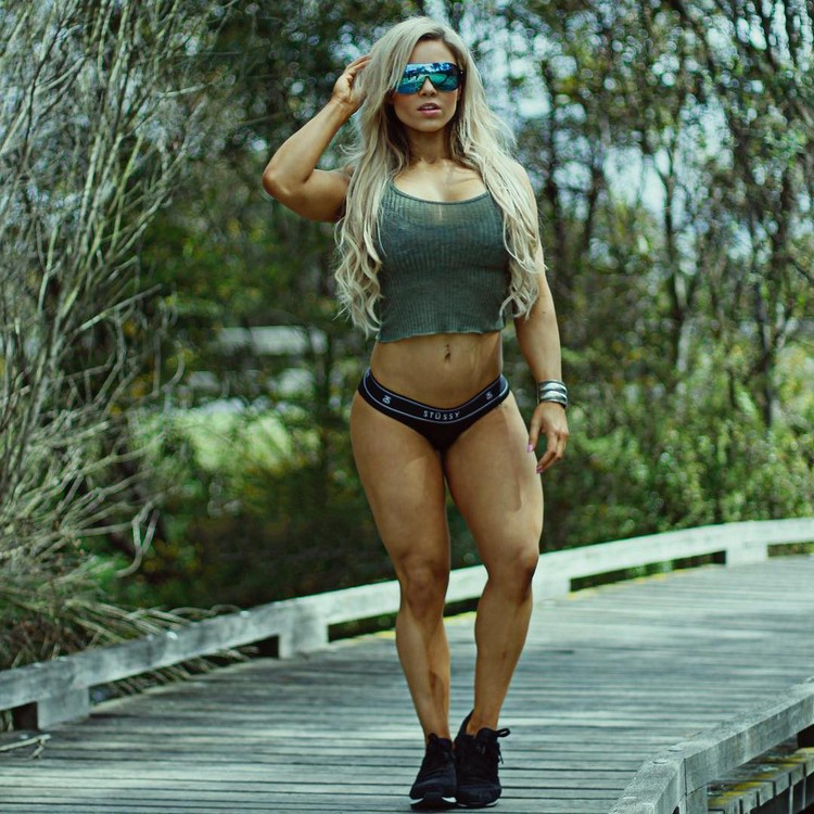 Stephanie Sanzo Australian fitness personal trainer along the way