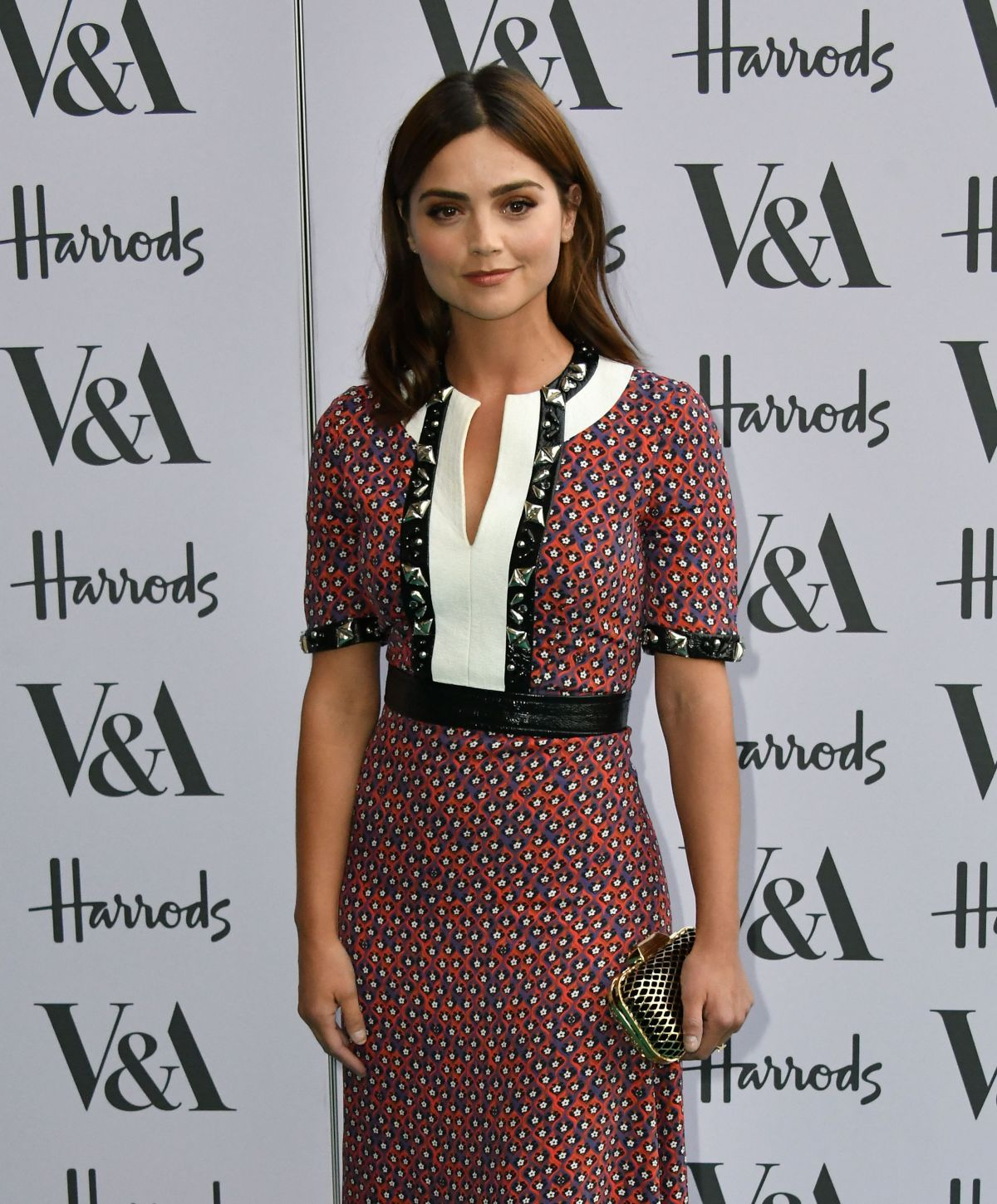 'Me Before You' actress Jenna Louise Coleman at Summer Party at the Victoria and Albert Museum in London