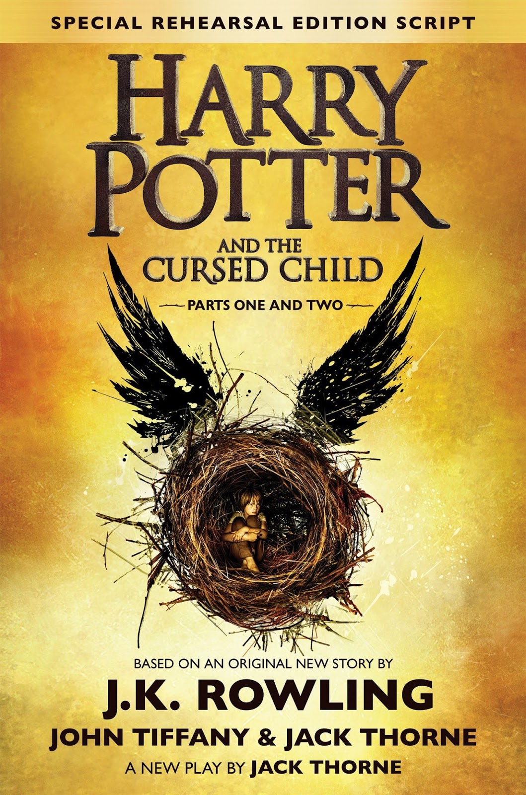 Harry Potter and the Cursed Child J.K. rowling cover