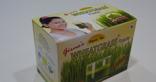 Wheatgrass in new sachet packing