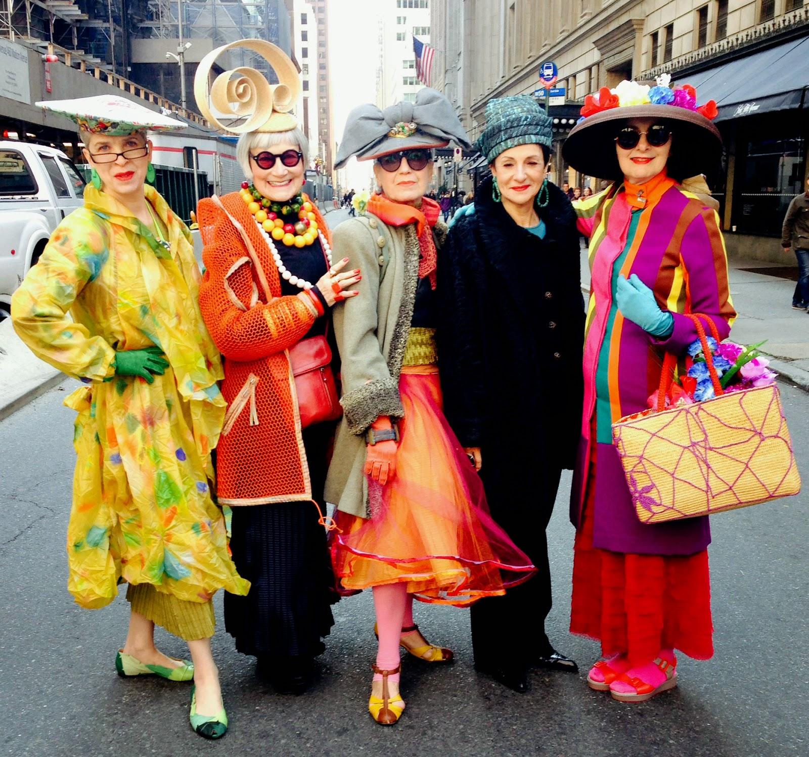 Valerie Idiosyncratic Instagram Rapoport: Idiosyncratic Fashionistas: Easter Parade 2015