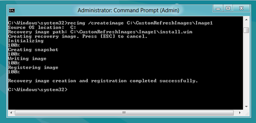 recimg command in cmd prompt