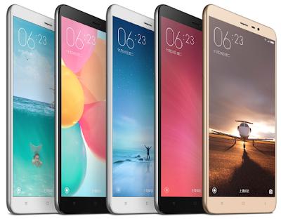 Xiaomi Redmi 3 Varian Warna Desain