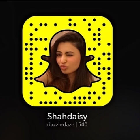Daisy Shah Snapchat photo