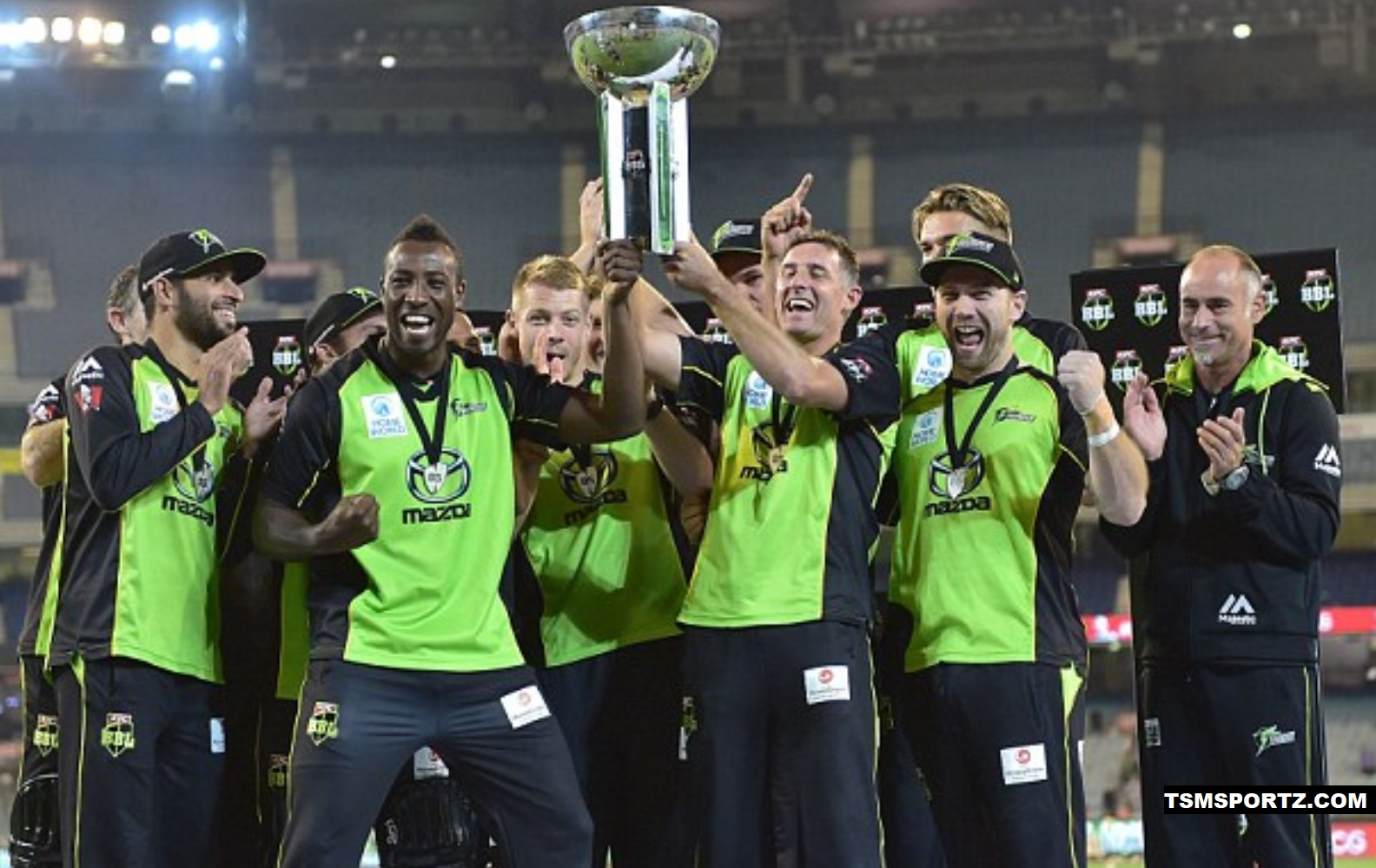 Average attendance of crowed at Big Bash League T20