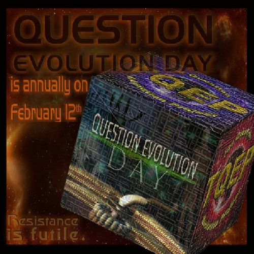 Question Evolution Day is annually on February 12. You can be a part of it.