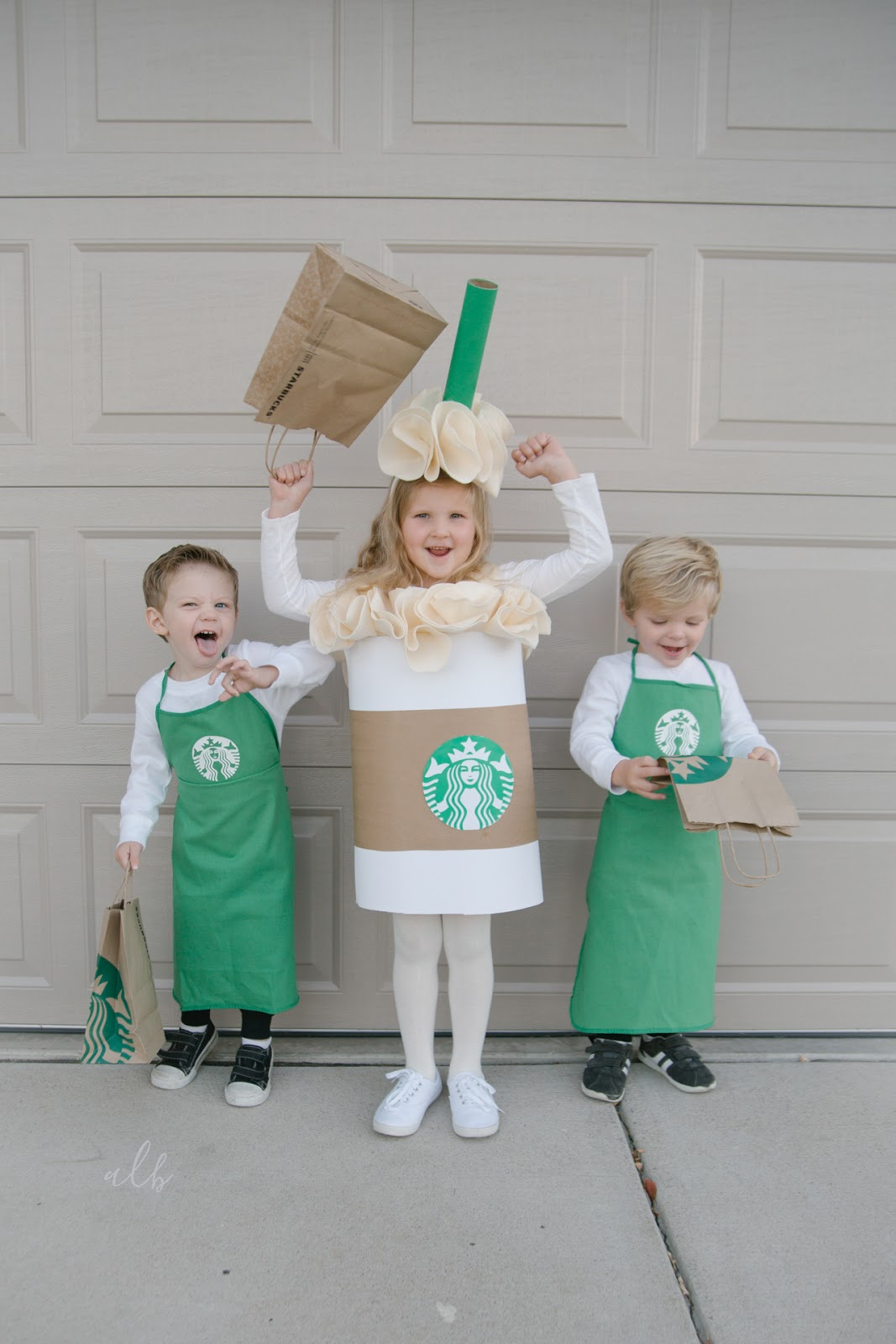 No Sew Diy Starbucks Cup Costume Andrea Lebeau