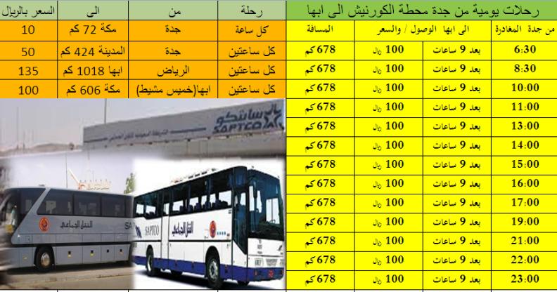 مدونة عرب تريكا اسعار ورحلات الشركة السعودية للنقل الجماعي