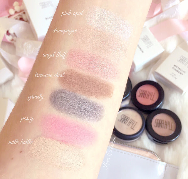 Sara Hill Makeup | Swatches