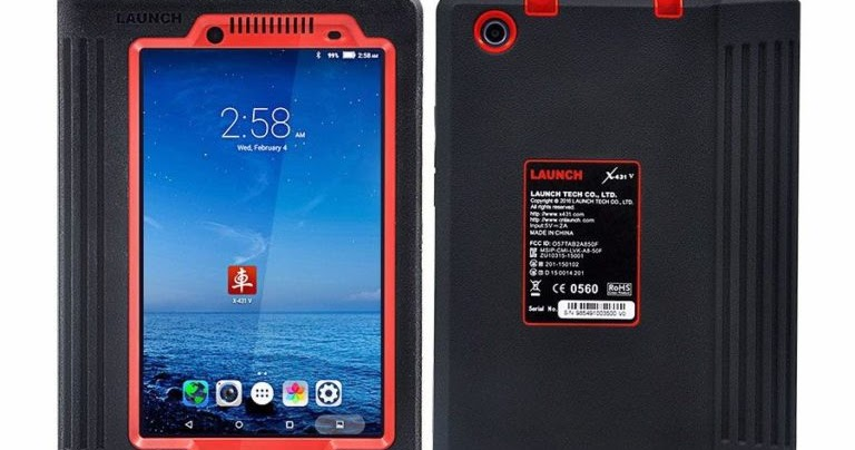 Launch X431 Diagnostics Scan Tool: Launch X431 V 8″ Lenovo