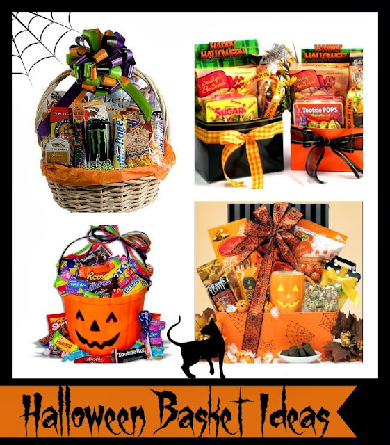 Kid's Halloween Basket Ideas