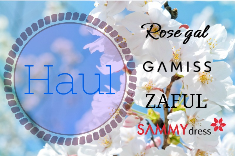 HAUL | ZAFUL ● ROSEGAL ● GAMISS ● SAMMYDRESS